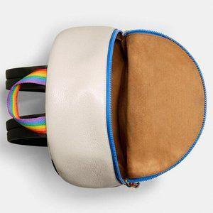 Coach Bags - Coach Rainbow Charlie Backpack w FREE Card Case